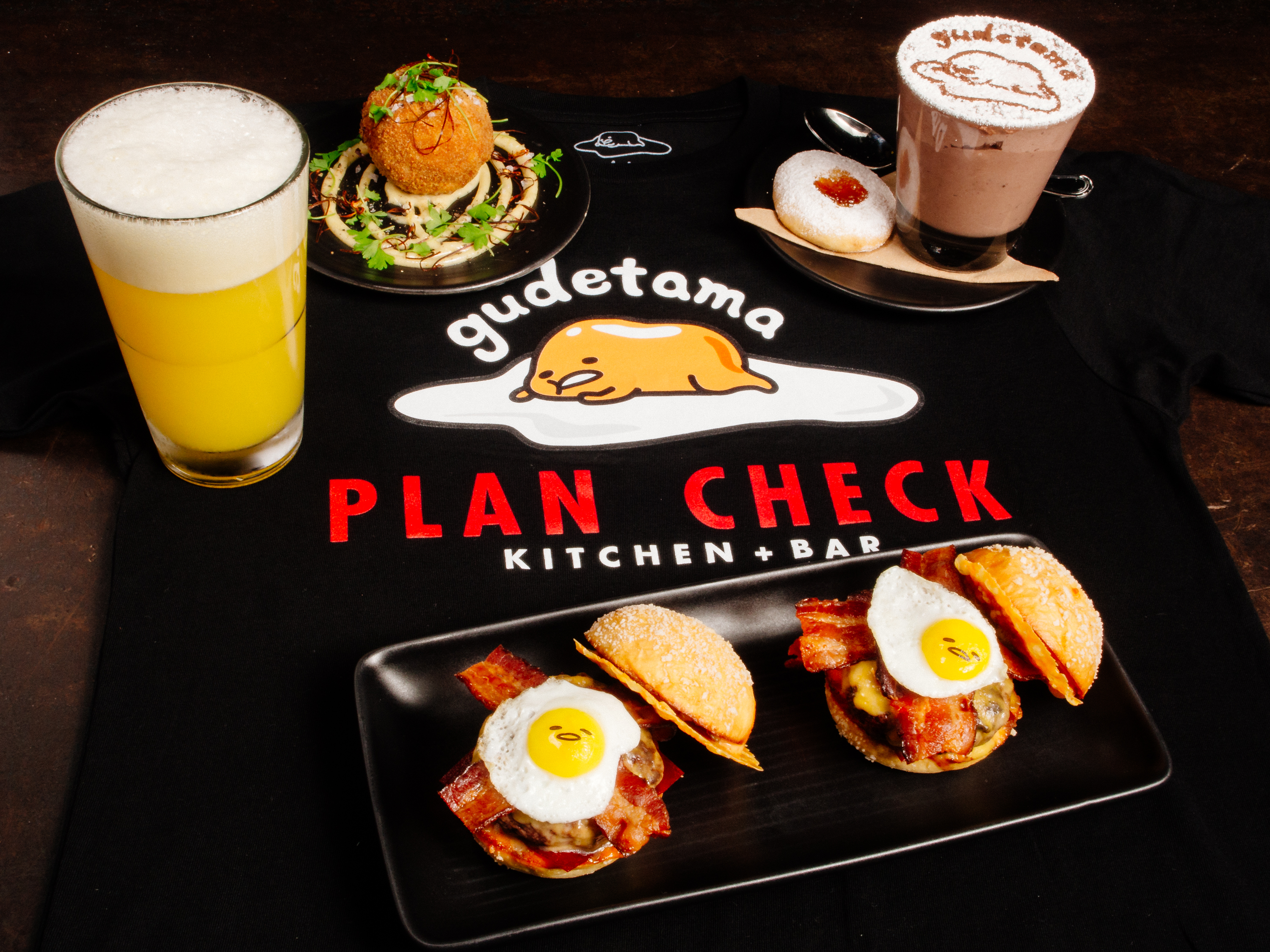 Gudetama × Plan Check